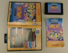 Syd of Valis (Sega Genesis, 1992) COMPLETE Box Manual Game TESTED RARE RPG!! Sid