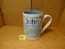 John Character/Personality Coffee Mug, Papel Giftware, Encore  (Used/EUC)