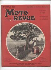 Moto Revue N°658  ; 19  octobre  1935 :  croquis et photos motos  au salon