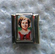 """SHIRLEY TEMPLE."" 9MM ITALIAN CHARM- MOVIES, CURLEY TOP, ANIMAL CRACKERS"