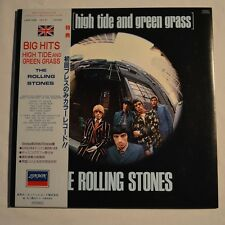 ROLLING STONES - Big hits -1982 JAPAN LP BLUE COLOR Vinyl