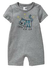 AUTH. BNWT BABY GAP GRRR GRAPHIC ONE-PIECE (12-18 MOS.)