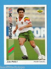 Figurina/CARDS-UPPER DECK 93 -WC USA 94- n.10- JOAO PINTO - PORTOGALLO