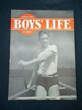 1940 August Boys Life Magazine Coca Cola Full Page ad Back Page
