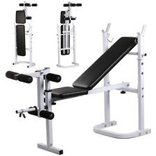 Weight Lifting Bench Fitness Workout Home Exercise Adjustable Incline Press NEW