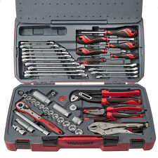 Teng tools T3848 3/8 square drive 48 piece MM & AF socket & tool set TENT3848