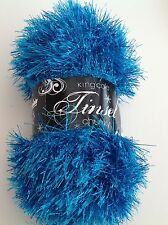 King Cole Tinsel Chunky Knitting Yarn/Wool for Hedgehogs/owls/scarves
