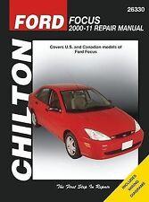 Chilton Ford Focus 2000-2011 Repair Manual #26330