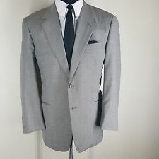 VESTIMENTA GRAY LIGHTWEIGHT WOOL BLEND BLAZER 2 BTN NO VENTS  40R -FIT40-42R