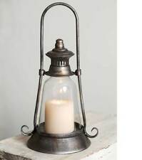Antique style Edmonton Candle Lantern Vintage Farmhouse Rusitc Country Decor