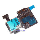 Micro SD Card Reader SIM Tray Holder Flex Cable for Samsung Galaxy S4 i337 M919