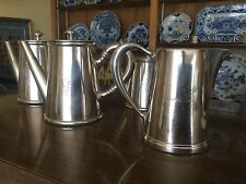 French Hotel Silver Tea Creamers Pots Four South of France Casinode Vichy Hotel