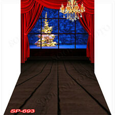 Christmas 10'x20' Computer-painted (CP)Scenic Vinyl Background Backdrop SP693B88