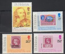 St. Helena 1979 ** Mi.317/20 Stamp on Stamp | Postmeister Rowland Hill [sq3592]