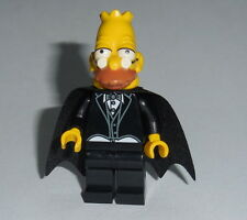 "THE SIMPSONS Lego Grandpa- ""Dracula/Vampire"" Custom NEW (Genuine Lego parts)"