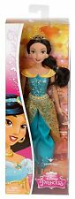 DISNEY SPARKLING PRINCESS JASMINE DOLL 12 INCHES 2014 GLITTER CFB80  *NEW*