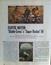 ANNI 70  MOTO FANTIC MOTOR DIABLO CROSS SUPER ROCKET