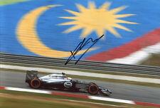 Kevin Magnussen SIGNED AUTOGRAPH McLaren Formula One F1 side AFTAL UACC RD