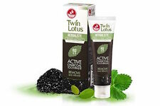 100g Twin Lotus Active Charcoal Toothpaste Herbal