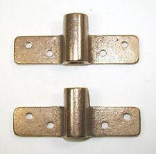 """580810 Sea-Dog Line Oarlock Sockets Bronze Pair Side Mount 1/2"""" Shank 132-1057"""