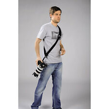 Camera Shoulder Rapid DSLR Quick Release Shoot Strap Black by Hama