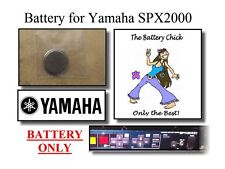 Battery for Yamaha SPX2000 Multi-FX Unit - Internal Memory Replacement Battery