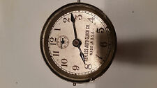 Keyless Auto Clock Antique automobile Car clock Working Condition Bezel Missing