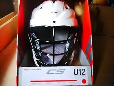 *NEW* Cascade Youth CS Lacrosse Helmet (White) One Size - U12 Under 12
