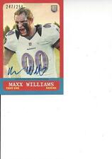 2015 Topps Mini Autograph #247/250 Maxx Williams RC Baltimore Ravens