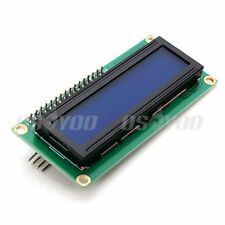 Blue Display IIC/I2C Serial Interface 1602 16X2 Character LCD Module for Arduino