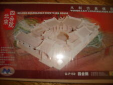 3d in Legno Puzzle PECHINO House, Ideale Stocking Filler
