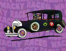 Hanna Barbera STYLE GUIDE PLATE - The Ant Hill Mob Bulletproof Bomb Wacky Races
