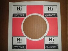 Original Factory Hi/London record sleeve #607