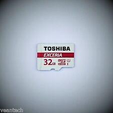 Toshiba Exceria 32gb MicroSD sdhc uhs-1 48mb/s Class 10 Carte mémoire NEUF & OVP