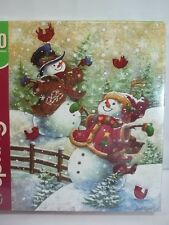 Springbok Gotta Love Snow 1000 Piece Jigsaw Puzzle Snowman 2014 New Christmas