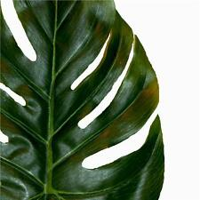 Artificial Large Monstera Leaf - X3 - Swiss Cheese Plant Decorative Leaves