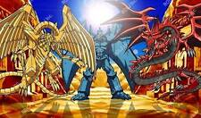 EGYPTIAN GODS 4 YUGIOH PLAYMATS CUSTOM PLAYMAT PLAY MAT GAME MATS PAD PADS