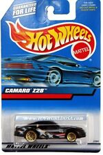 2000 Hot Wheels #124 Chevy Camaro Z28 light tampo logo