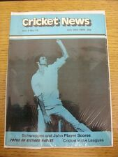 29/07/1978 Cricket News: Vol.02 No.13 - A Weekly Review Of The Game, Schweppes &