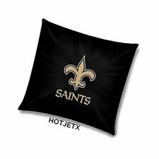 NEW ORLEANS SAINTS PILLOW OFFICIAL TOSS NFL FOOTBALL HOME BED SOFA SUPERBOWL TV