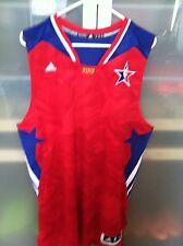 NEW Adidas 2013 NBA All Star West Jersey - Blank Red - Size XL +2 Length $100