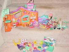LITTLEST PET SHOP FIGURES PETS BLYTHE DOLLS STORES ACCESSORIES LOT