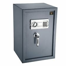 Digital Deluxe Safe Home Safety Device Electronic Lock Document Gun Cabinet Box