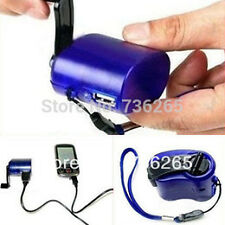 USB Hand Power Dynamo Torch Charger Cellphone