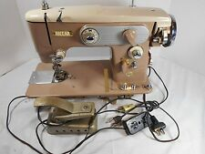 Vintage RICCAR Sewing Machine Grand Duchess Model RZ-104B Heavy Duty