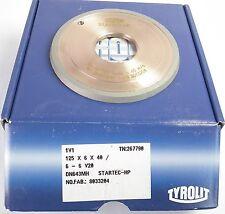 TYROLIT Startec-HPDiamant Schleifscheibe 1V1 125 x 6 x 40 6-6 V20 Neu