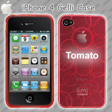 Case-Mate Gelli Case Kaleidoscope for Apple iPhone 4 / 4S Tomato Red Silicon