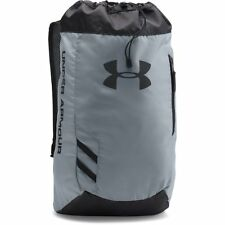 UNDER ARMOUR NEW Sac À Dos Gris Transe Sackpack NEUF AVEC ÉTIQUETTE