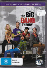 The Big Bang Theory - The Complete Third Season - DVD (Brand New Sealed)