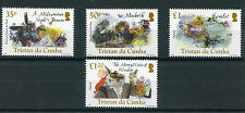 Tristan da Cunha 2016 MNH William Shakespeare 400th Mem 4v Set Hamlet Stamps